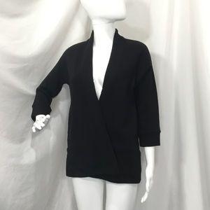 Ann Taylor Loft Open Textured Cardigan (H8)